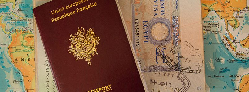 passport europe carte